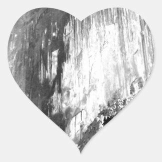 HALF DOME - Yosemite Heart Sticker