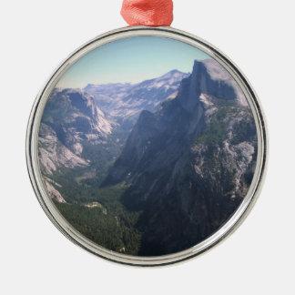 Half Dome, Yosemite Metal Ornament