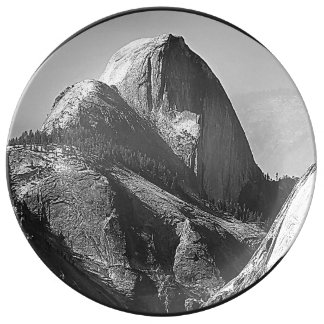 Half Dome, Yosemite National Park Porcelain Plate