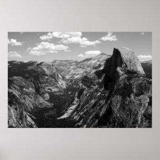Half Dome, Yosemite National Park Poster