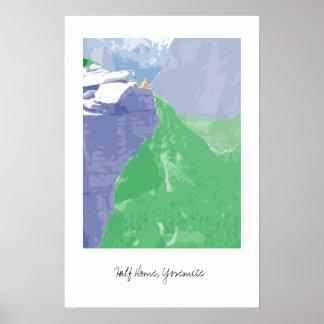 Half Dome, Yosemite Poster