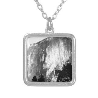 HALF DOME - Yosemite Silver Plated Necklace