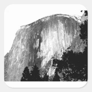 HALF DOME - Yosemite Square Sticker