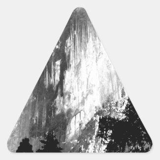 HALF DOME - Yosemite Triangle Sticker