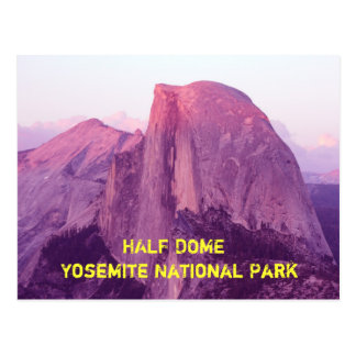 Half Done, Yosemite National Park Postcard