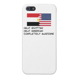 Half Egyptian Completely Awesome iPhone 5 Case