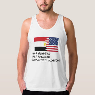 Half Egyptian Completely Awesome Tank Top