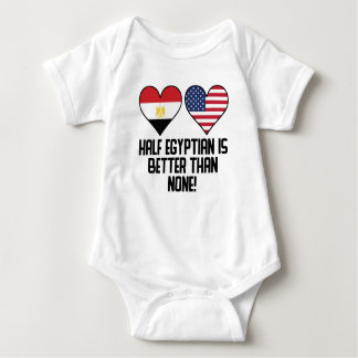 Half Egyptian Is Better Than None Baby Bodysuit