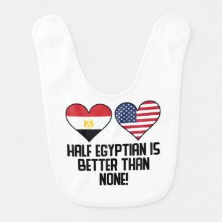 Half Egyptian Is Better Than None Bib