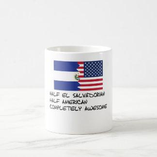 Half El Salvadorian Completely Awesome Magic Mug
