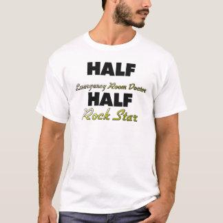 Half Emergency Room Doctor Half Rock Star T-Shirt