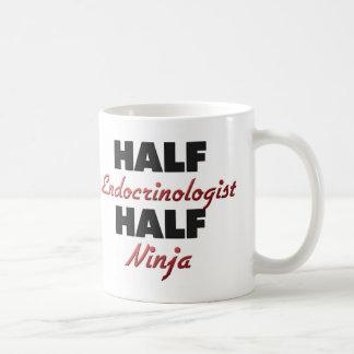 Half Endocrinologist Half Ninja Coffee Mug