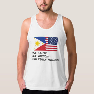 Half Filipino Completely Awesome Tank Top