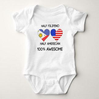 Half Filipino Half American Baby Bodysuit