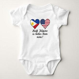 Half Filipino Is Better Than None Baby Bodysuit
