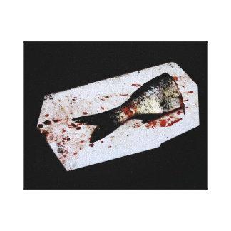 Half Fish Canvas Print