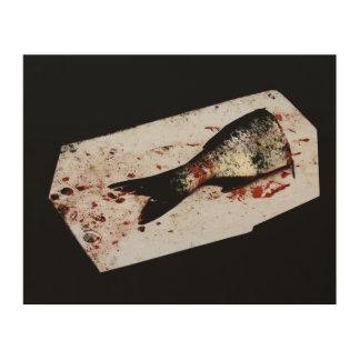 Half Fish Wood Prints