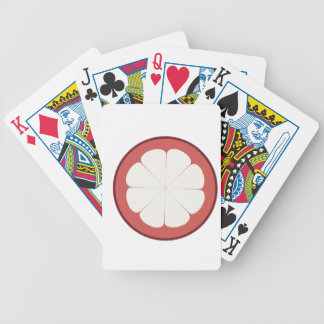 half fruit design bicycle playing cards