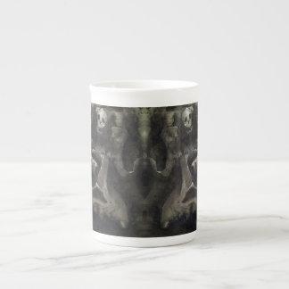 Half Full - Bone China Mug