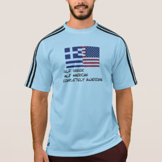 Half Greek Completely Awesome T-Shirt