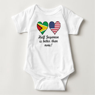 Half Guyanese Is Better Than None Baby Bodysuit
