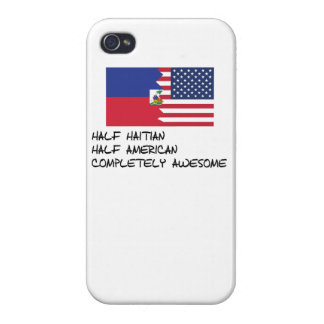 Half Haitian Completely Awesome Covers For iPhone 4