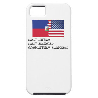 Half Haitian Completely Awesome iPhone 5 Case