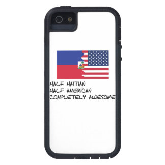 Half Haitian Completely Awesome iPhone 5 Cover