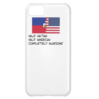 Half Haitian Completely Awesome iPhone 5C Cover