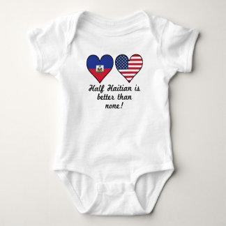 Half Haitian Is Better Than None Baby Bodysuit
