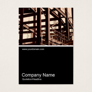 Half&Half Photo 03 - Steel Frame Construction Business Card