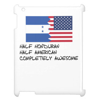Half Honduran Completely Awesome iPad Case