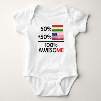 Half Hungarian Half American Baby Bodysuit