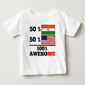 Half Indian Half American Baby T-Shirt