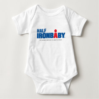 Half Iron Baby Bodysuit