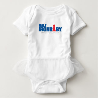 Half Iron Baby Bodysuit with Tutu