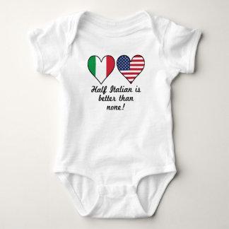 Half Italian Is Better Than None Baby Bodysuit