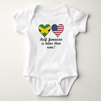 Half Jamaican Is Better Than None Baby Bodysuit