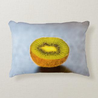 half Kiwi on the table Decorative Pillow