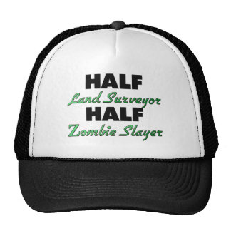 Half Land Surveyor Half Zombie Slayer Hats