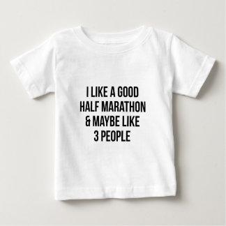 Half Marathon & 3 People Baby T-Shirt
