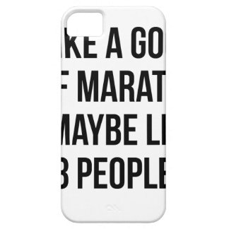 Half Marathon & 3 People Case For The iPhone 5