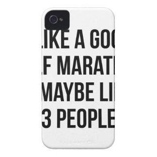 Half Marathon & 3 People iPhone 4 Case
