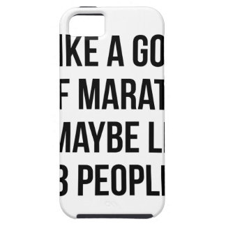 Half Marathon & 3 People iPhone 5 Cases