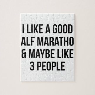 Half Marathon & 3 People Jigsaw Puzzle