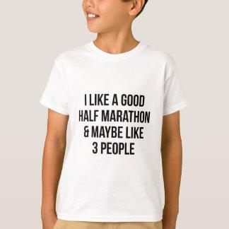Half Marathon & 3 People T-Shirt