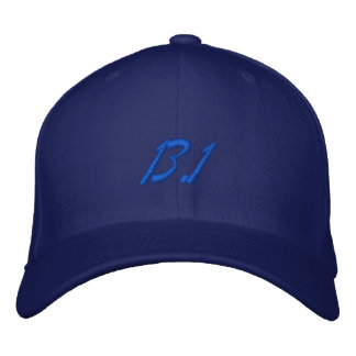 Half marathon embroidered hat