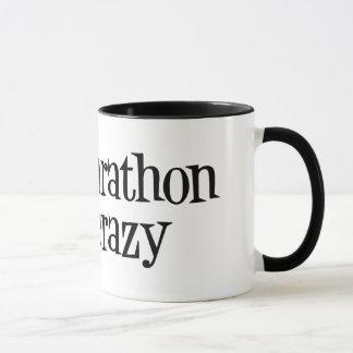 half marathon half crazy mug