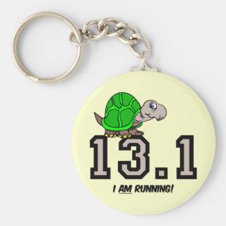 Half marathon keychain