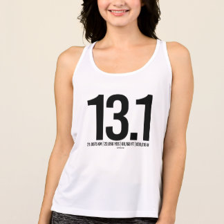 Half Marathon Mileage Conversion -  .png Tank Top